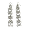 Long Chandelier Bit Earrings - Tocci Designs