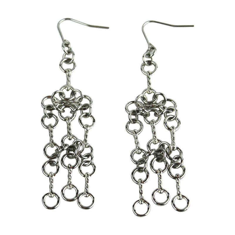 Tiny Bit Chandelier Earrings - Tocci Designs