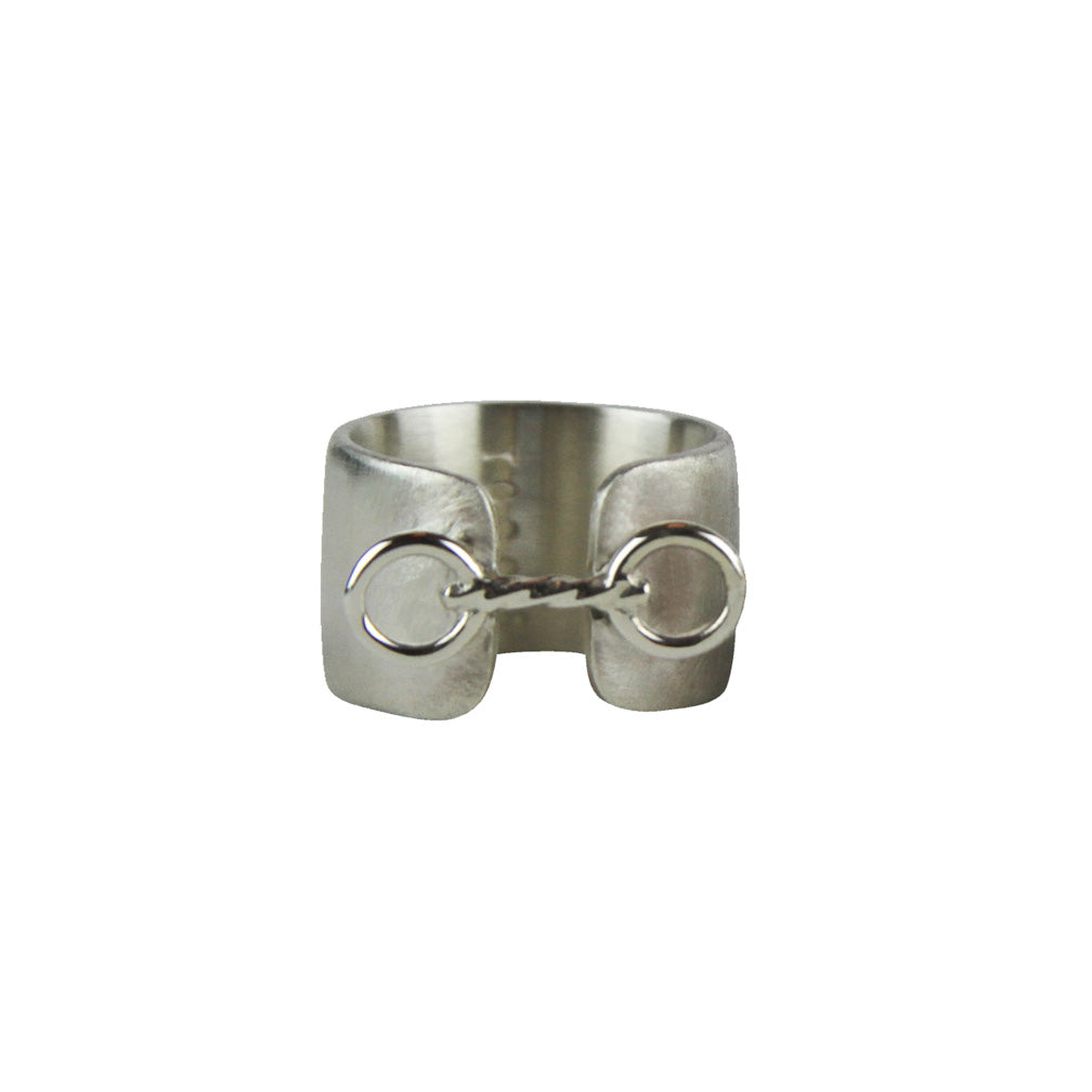 Small Horse Bit Cuff Ring - Tocci Designs