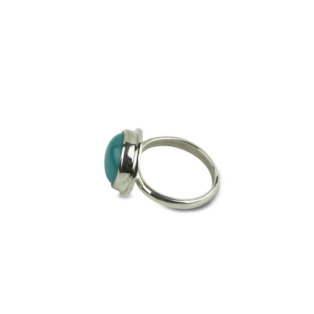 Turquoise Cabochon Ring - Tocci Designs