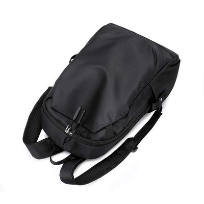 Casual Oxford Solid Large Capacity Waterproof Stress Reliever Zipper Laptop Bag