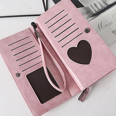 12 Card Slots Large Capacity Card Holder - Wallets - ustreetstyle
