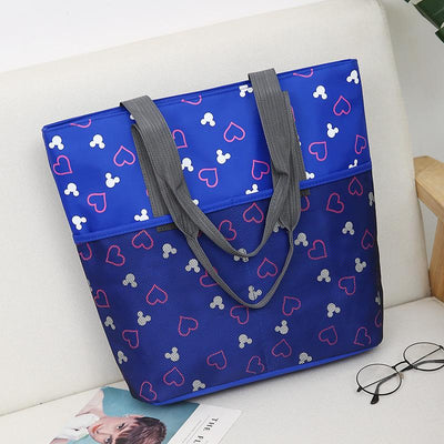 Mickey Mouse Print Large Capacity Tote Bag - Handbag - ustreetstyle