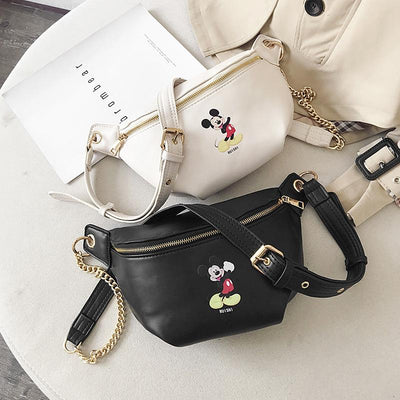 Fashion Mickey Leather Fanny Pack *New Released -  - ustreetstyle