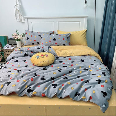 Mickey Kiss Minnie Bedding Set-C