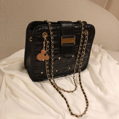 Mickey Mouse Leather Crossbody Bag