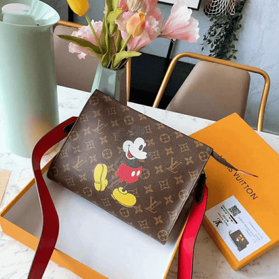 Mickey Mouse Leather Classic Handbag *Limited Edition