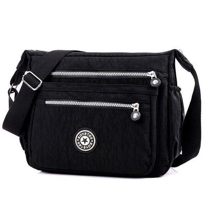 Thread Nylon Shoulder Bag - Women Bags,Luggages - ustreetstyle