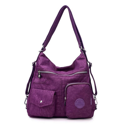Convertible Backpack shoulder Bag - handbags - ustreetstyle