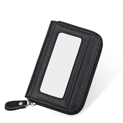 RFID Genuine Leather Card Holder - Wallets - ustreetstyle
