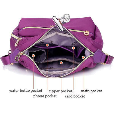 Waterproof Double-sided Shoulder Bag - Crossbody Bag - ustreetstyle