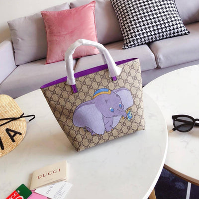 Fashion Dumbo Leather Fashion Handbag *Limited Edition -  - ustreetstyle