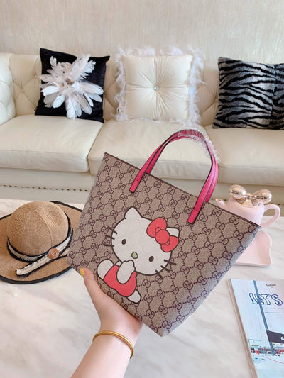 Hello Kitty Lovely Leather Handbag -  - ustreetstyle