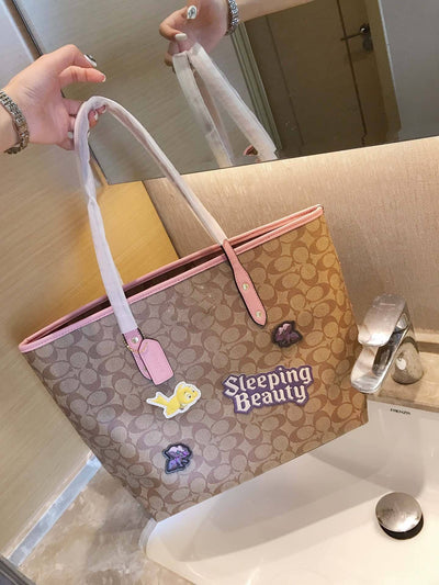 Snow White & Sleeping Beauty Fashion Leather Handbag *Limited Edition - Handbag - ustreetstyle
