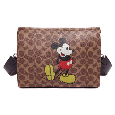 Mickey Mouse Classic Leather Handbag