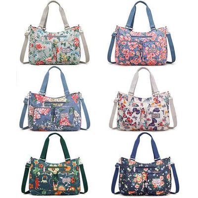Large Capacity Flower Shoulder Bag - Crossbody Bag - ustreetstyle