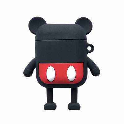 Mickey and Minnie Airpods Case Protective Silicone Cover -  - ustreetstyle