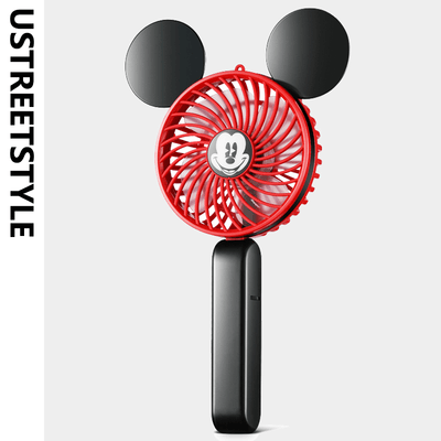 Mickey Mouse holds a charged summer fan - Accessories - ustreetstyle