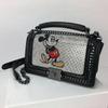 Mickey Mouse Leather Shine Crossbody Bag