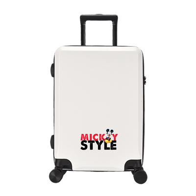 Mickey and Minnie Mouse Fashion Rolling Luggage