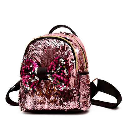 Cute Mickey High Quality Potion Sequined Backpack -  - ustreetstyle