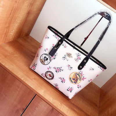Minnie Style Classic Leather Handbag *Limited Edition - Handbag - ustreetstyle
