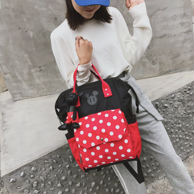 Mickey Minnie Classic Backpack (With Pendant) - Backpack - ustreetstyle