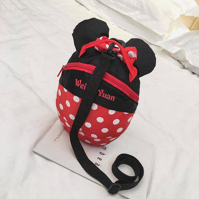Cute Mickey & Minnie Style Backpack For Kids - Backpack - ustreetstyle