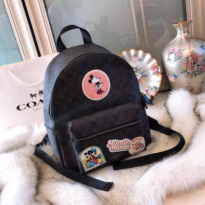Mickey Style Classic Leather Backpack *Limited Edition - Backpack - ustreetstyle