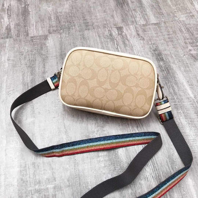 Mickey Badge Luxury Double Zip Crossbody Bag *Limited Edition - Crossbody Bag - ustreetstyle