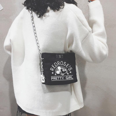 Mickey Mouse Crossbody Bag *3 Colors Options -  - ustreetstyle