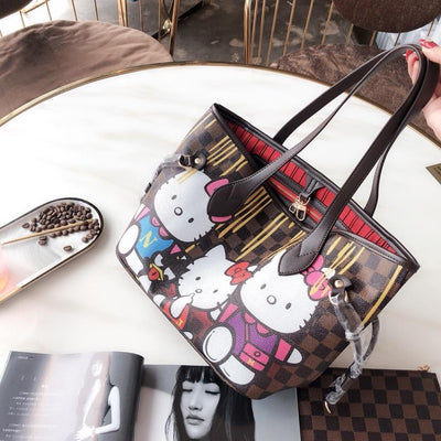 2Pcs Hello Kitty Leather Bag sets *Limited Edition -  - ustreetstyle