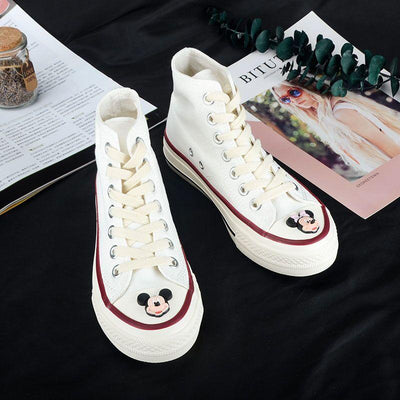 Mickey & Minnie Cute High-Quality Canvas Shoes - shoes - ustreetstyle