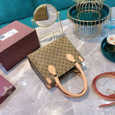 2020 Mickey Vintage Brown Leather Tote Bag *Limited Edition