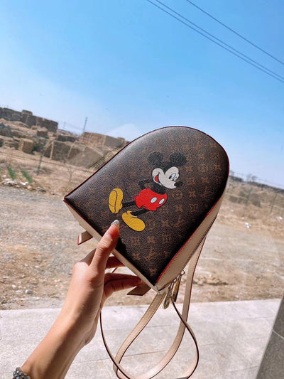 Mickey Mouse Summer Classic Leather Bag *Limited Edition