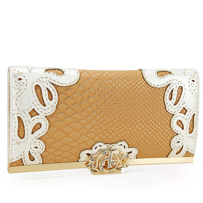 Princess peacock pattern long wallet - Wallets - ustreetstyle