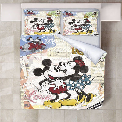 Mickey & Minnie Mouse Bedding Set 22 Bedding Set 1928Mickey Twin B