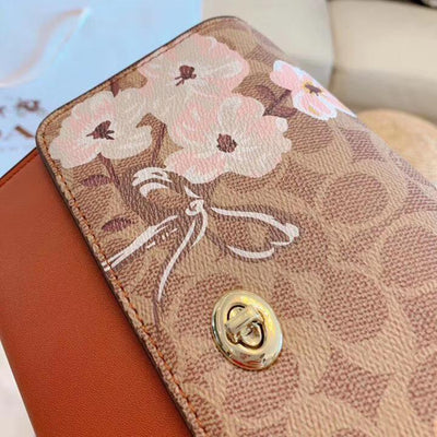 Crossbody Leather With Floral Print *Limited Edition - Crossbody Bag - ustreetstyle