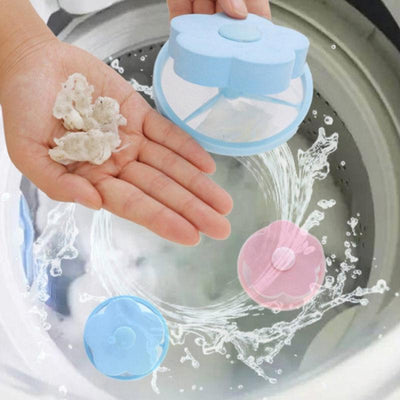 Washing Machine Filter Bag Decontamination Depilatory Laundry Bag