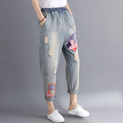 Mickey Mouse Jeans for Adults - Pants - ustreetstyle