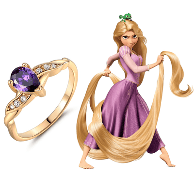 Rapunzel Princess Ring