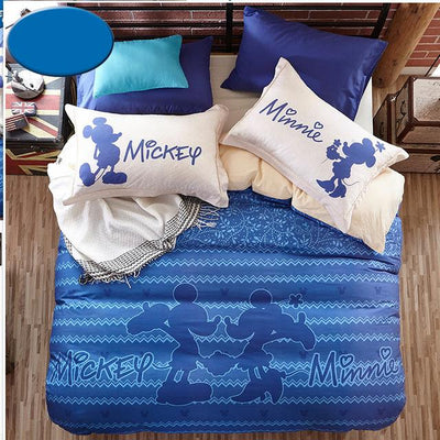 Mickey Kiss Minnie Bedding Set-N