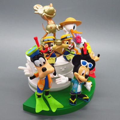 Mickey & Minnie Action Figure Toy Set