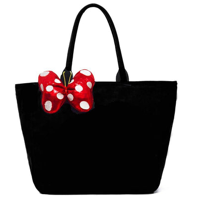 Minnie Mouse Embroidery Canvas Bag - Handbag - ustreetstyle