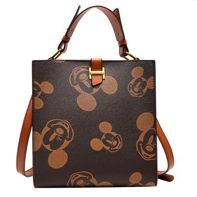 Mickey Classic Leather Tote Bag