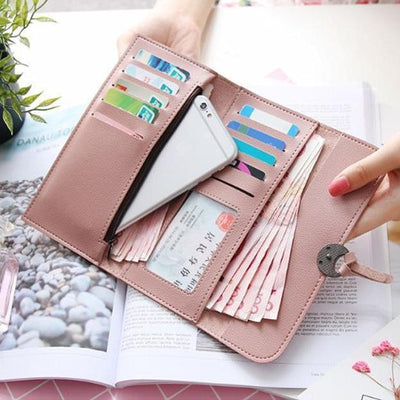 Women Large Capacity Purse Wallet - Wallets - ustreetstyle