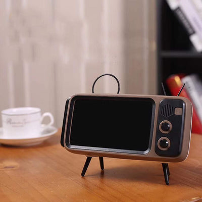 Design Mini Bluetooth Speaker Mobile Phone Stand Holder