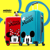 Mickey and Minnie Mouse Rolling Luggage