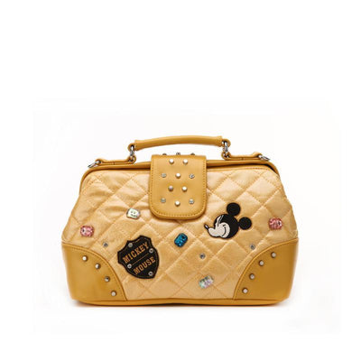 Mickey Mouse rhombic diamond crossbody bag - Crossbody Bag - ustreetstyle