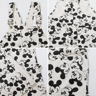 Mickey Mouse Summer Denim Overalls